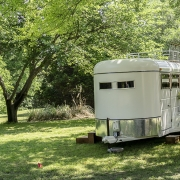 WInston The Photo Booth Horse Trailer
